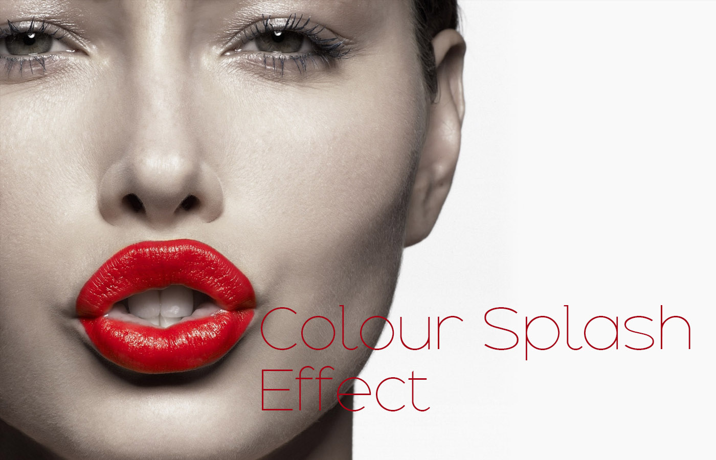 Selective Color Effect or Color Splash Effect Using Photoshop