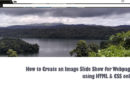 How to Create an Image Slide Show using HTML & CSS only
