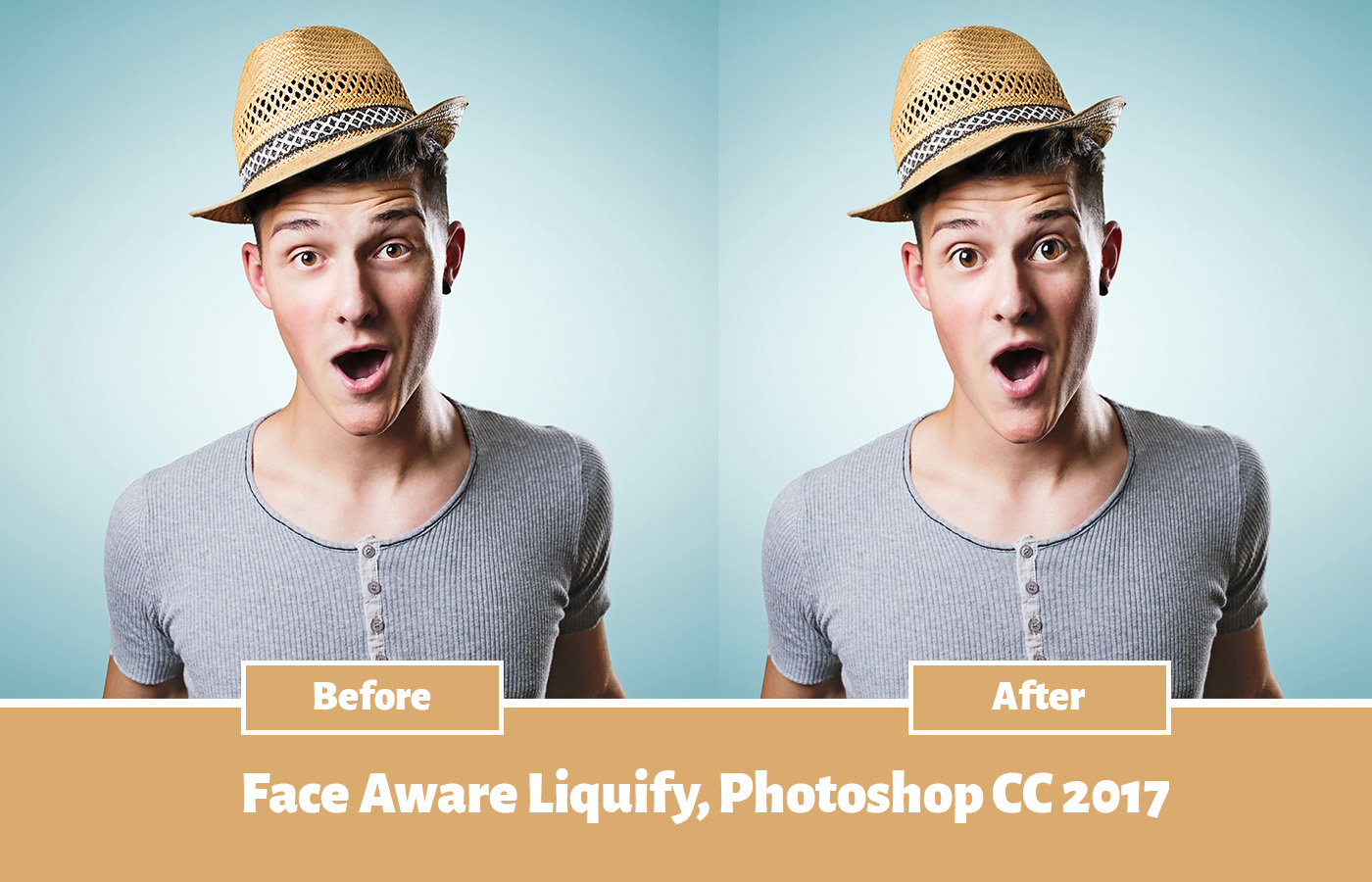Face Aware Liquify : Meet New Addition of Photoshop CC 2017 - Jees K