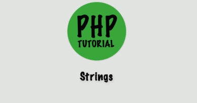 php tutorial strings