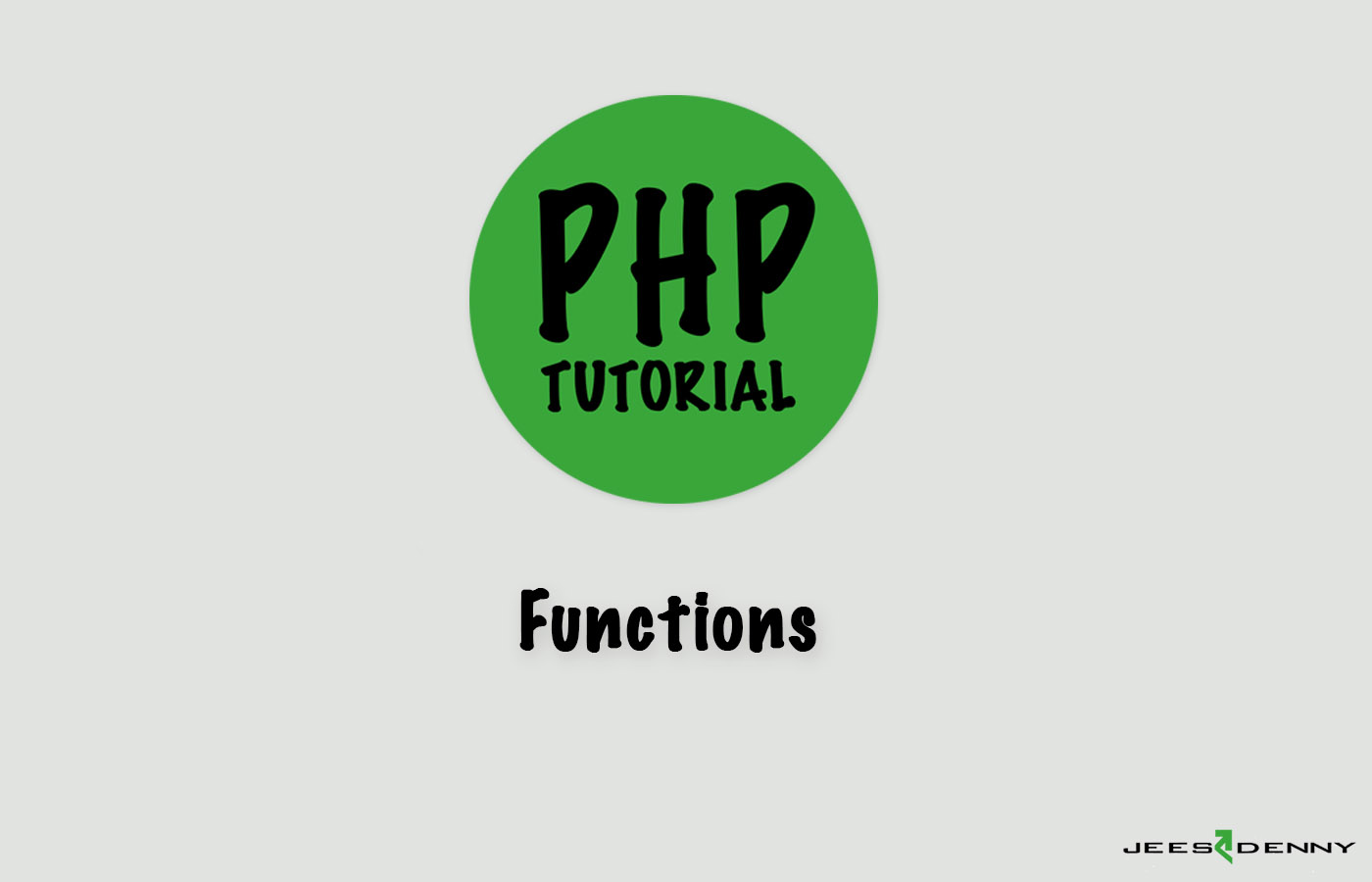 PHP- Functions