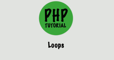 php loops tutorial