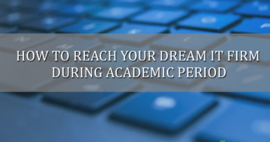 how to reach your dream it firms during academic period